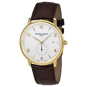 Frederique Constant Slimline Silver Dial Men's Watch 245VA5S5