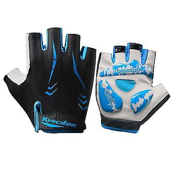 Nylon Outdoor Sports Hand Protector Breathable Half Finger Gloves