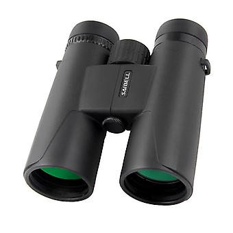 10x50 Binoculars - Professional, Long Range and Powerful. Ideal for Adults for Hunting, Astronomy, Bird Watching, Camping. Includes Suitcase, Strap, Chamois.(black)