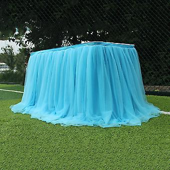 Mesh Table Cloth For Wedding Party Table Decoration