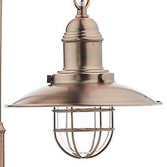 Fisherman Dome Table Lamp Copper