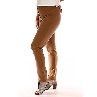 LATTE Latte Trouser In Black Navy Or Camel T7008