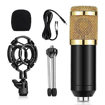 Professional-mikrofoni, Mic Studio -lauhdutinteline, äänilevy, pc: lle,