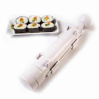 Kök Sushi Mold Rice Ball Diy Plast Sushi Making Kit Vit
