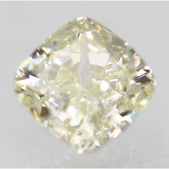 Sertifioitu 0,79 karat J Väri VVS1 Tyyny Natural Loose Diamond 4.95x4.93mm