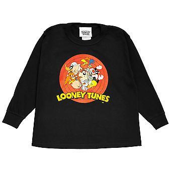 Looney Tunes Mädchen Gruppe Shot Langarm T-Shirt