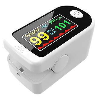 قياس أكسدة النبض الأبيض رصد معدل ضربات القلب الكشف عن الإصبع مقياس الأوكسيمتر az5795