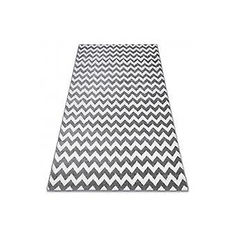 سجادة سكتش - F561 رمادي/أبيض - Zigzag