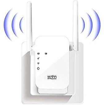 WiFi Extender טווח מגבר טווח 300Mbps 2.4GHz WiFi מגבר מגבר מאריך מצב המרה / נתבים / AP LAN ממשק WPS הגנה קלה להתקנה-לבן