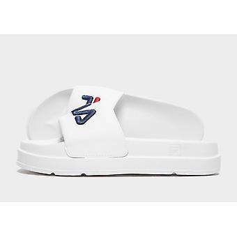 New Fila Women's Drifter Slides  from JD Outlet White