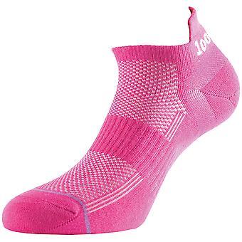 1000 Mile Ultimate Tactel Liner Sock Hot Pink Ladies - Medium