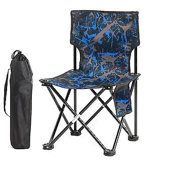 Black 60x34.5x34.5cm outdoor leisure folding chair homi3778