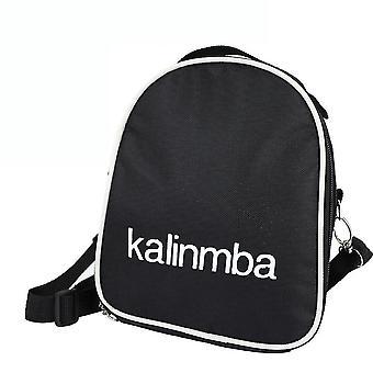 17 teclas Kalimba Thumb Piano Bag Shock Resistance Bag Preto