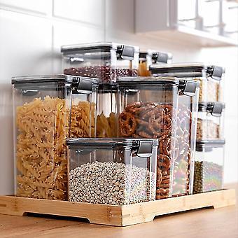 novas latas seladas transparentes multigrãos de 1800ml - 10*24 * 9cm usadas como recipiente de armazenamento de alimentos sm56237