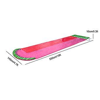 单水滑动厚耐用赛车滑滑垫充气喷水