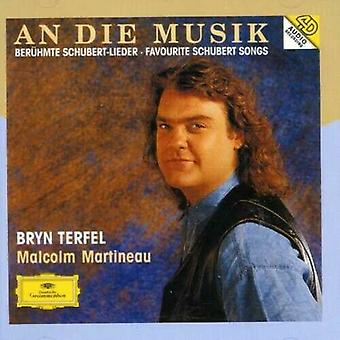 An Die Musik - Favoriete Schubert Songs (Terfel Martineau) CD (2007)