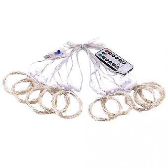 8-mode Led String Light With Remote Control