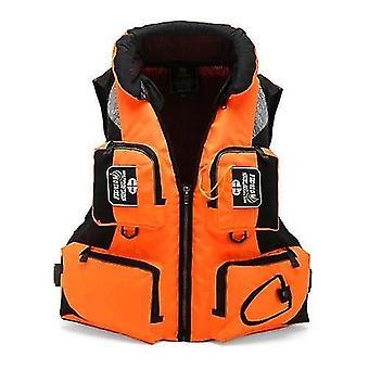 狩猟釣りベストポータブル多機能防水フィッシングライフジャケットベストアクセサリー