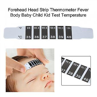 Forehead Head Strip Thermometer Fever Body Baby Child Kid Test Temperature
