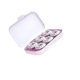 6 Pieces Of New Donut Quilt Holder Needle-free Non-slip Quilt Cover Holder(Pink)