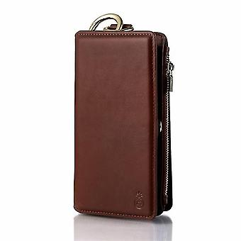 Étui de téléphone portefeuille pour Apple iPhone 7 Plus / 8Plus - Brown