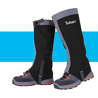 Unisex waterproof leg covers legging gaiter climbing camping hiking ski boot shoe snow gaiters legs protection