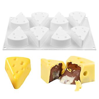 8 Cavity Silicone Cheese Mold, For Cake Decorating, Diy Baking Tools, French Dessert Mousse Molds