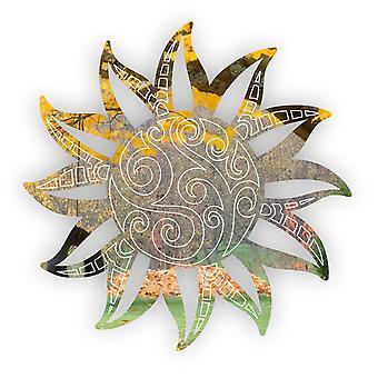 Летнее декоративное солнце акриловое зеркало