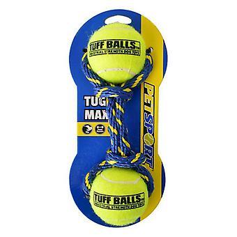 Petsport Tug Max Tuff Balls Dog Toy - 1 Count