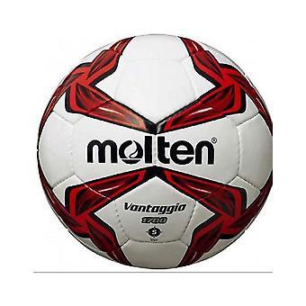 Fondu F5V1700 Match cousu à la main & Entraînement PVC Cuir Rouge Football