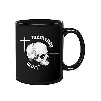 Memento Mori Skull Mug -SPIdeals Designs