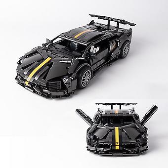 Modèle de voiture City Speed Champions Véhicule Blocs de construction High-tech Lamborghinied Racing Car Modèle Jouets Enfants Cadeaux d'anniversaire Garçons