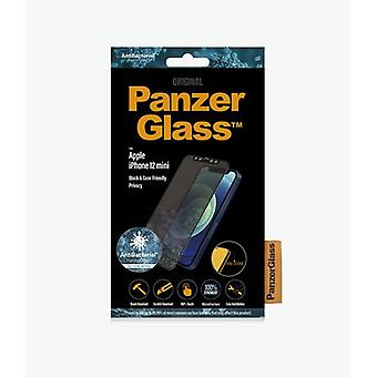 PanzerGlass P2710, Apple, iPhone 12 mini, Reptålig, Antibakteriell, Transparent, 1 styck