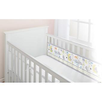 أسرة الأطفال الصغار سرير تنفس الطفل 2 بطانة سرير شبكة من جانب - دمية صغيرة tatty