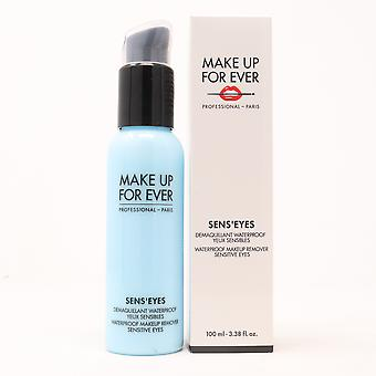 Make Up For Ever Seneeyes Waterproof Makeup Remover  3.38oz/100ml New With Box