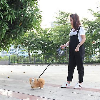 Einziehbare Hundeleine 8m 50kg Verlängerung Pet Leine Blei für großen Hund mit Led