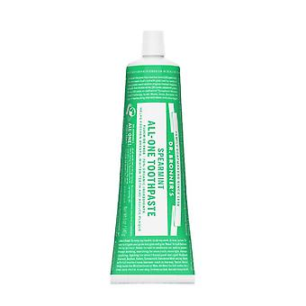 Dr. bronner's all-one organic spearmint toothpaste, 5 oz