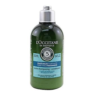 L'Occitane Aromachologie Purifying Freshness Conditioner (Normal to Oily Hair) 250ml/8.4oz