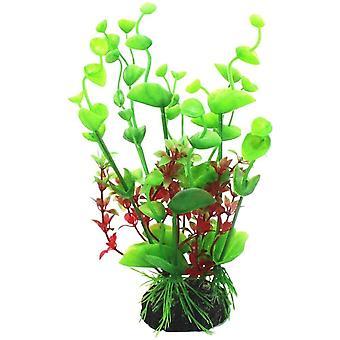 Acvariu decorare simulare de apă de plante din plastic Plant D