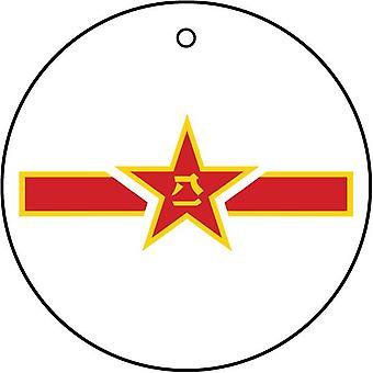 Jian chinesische Luftwaffe Roundel Auto Lufterfrischer