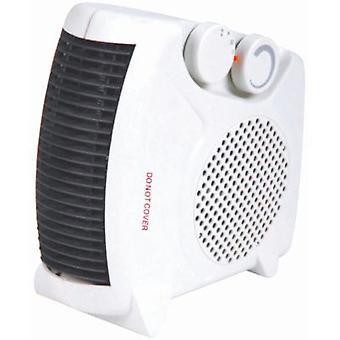 Portable 2kW vertical plana termoventilador eléctrico 2 calor configuración 1000W/2000W