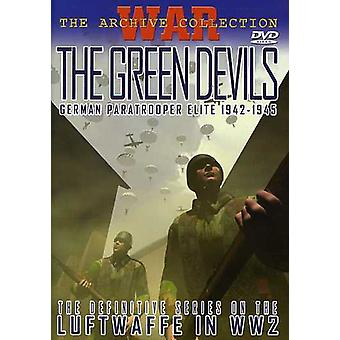 Green Devils: German Paratrooper Elite 1942-45 [DVD] USA import