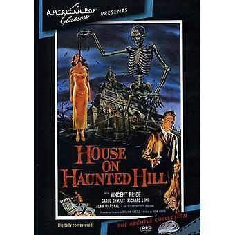 Casa sulla importazione di Haunted Hill (1959) [DVD] Stati Uniti d'America