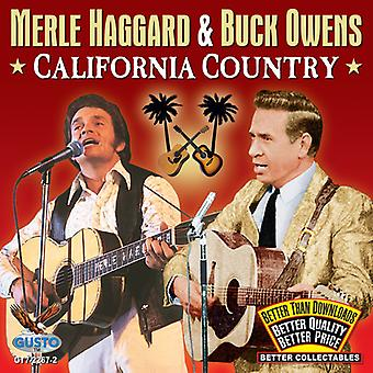 Merle Haggard & Buck Owens - Kalifornien land [CD] USA import