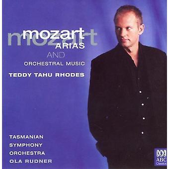Mozart, W.a. / Tahu Rhodes / Tasmanian Symphony - Arias [CD] USA tuonti