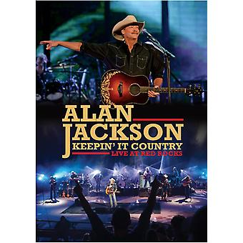Alan Jackson - Keepin It Country: Live at Red Rocks [DVD] USA import