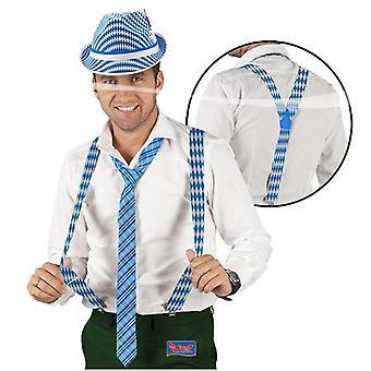 Henkselit koristeluun Oktoberfest Oktoberfest valkoinen sininen