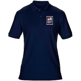 Königliche Marine Fahne Logo offizielle MOD - Herren-Polo-Shirt