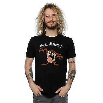 Looney Tunes Taz de los hombres que es toda gente camiseta