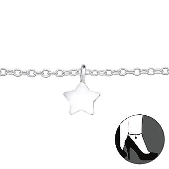 Star-925 Sterling Silver anklets-W27636X
